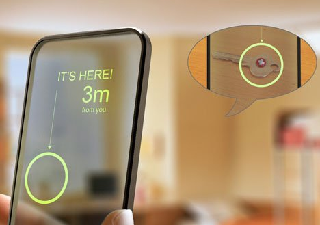 Key Control Helps Find Missing Objects Around the House | Designs & Ideas on Dornob