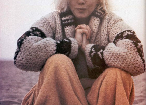 Marilyn in a Mexican Sweater