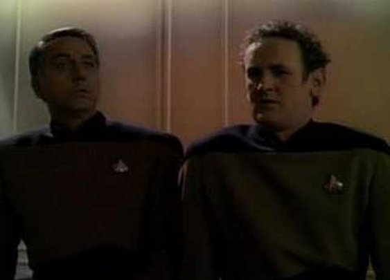 Minstrel Boy sung by Chief O'Brien