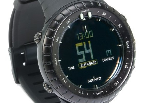 Suunto Core Multifunction Watch - All Black - Free Shipping at REI.com