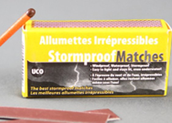 Huckberry General Store: Stormproof Matches