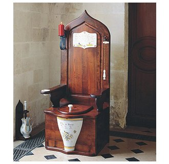 The Throne... The most expensive toilet we sell.
