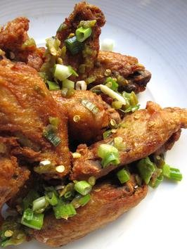 Crispy Chicken Wings Confit Recipe :   : Recipes : Cooking Channel