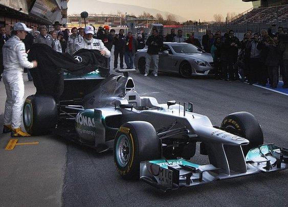 Formula One: Mercedes reveals new W03 - Autoweek
