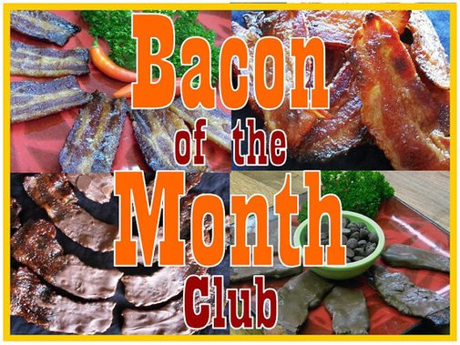 Bacon of the Month Club  6 Month by HashDelectableEdible on Etsy