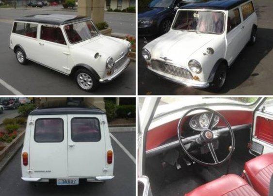 1967 Morris Mini Traveller