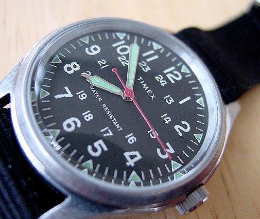 J Crew Timex Military Vintage Watch