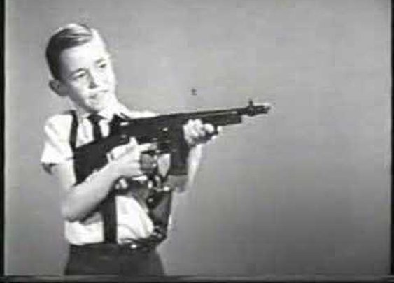 Mattel Tommy Burst TV commercial 1960s!      - YouTube