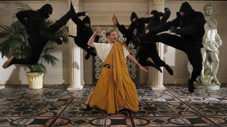 Neil Patrick Harris Fighting Ninjas