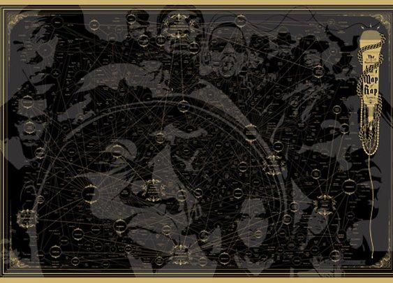 Magnificent Map of Rap Names