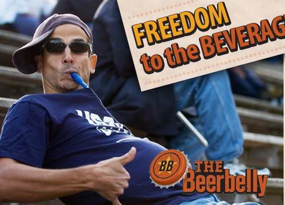 The Beerbelly- Stealth Beverage System