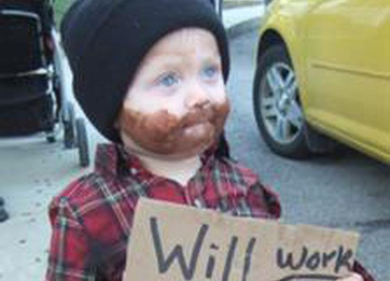 Coolest Homeless Child Costume 2