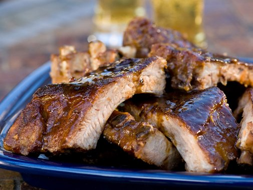 Who Loves Ya Baby-Back? Recipe : Alton Brown : Food Network