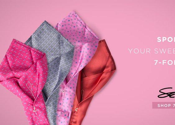 Sette Neckwear 7 Fold Limited Edition