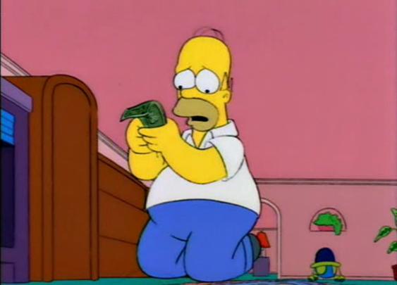 Aw, twenty dollars? But I wanted a peanut!