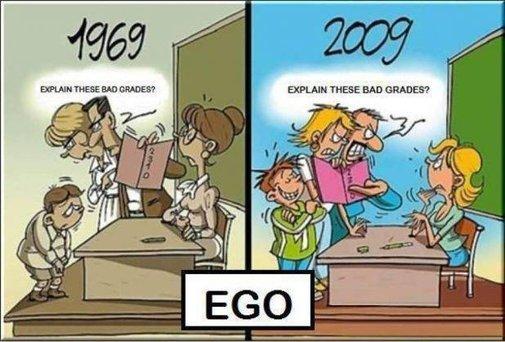 Ego: 1969 vs. 2009