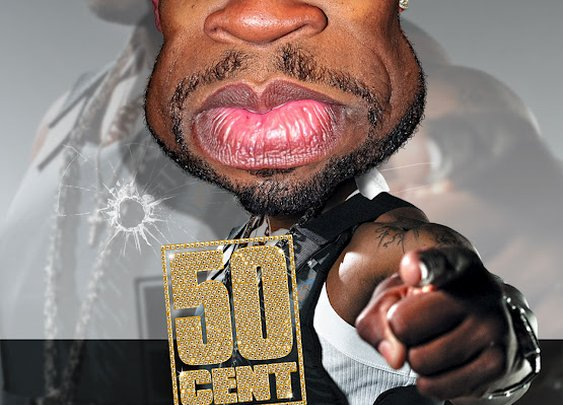 Rodney Pike Humorous Illustrator: 50 CENT ~ 21 Questions