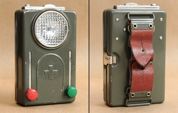 Vintage Swiss Army Flashlight | Cool Material