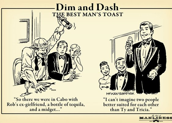 Dim & Dash: The Best Man's Toast | The Art of Manliness