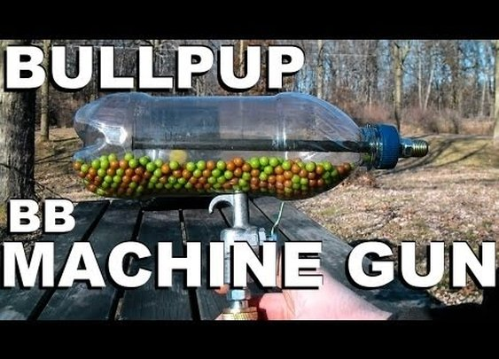 How to Make an Airsoft Machine Gun from a Soda Bottle      - YouTube