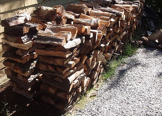 How to Stack Firewood - Wood Stacking - Popular Mechanics