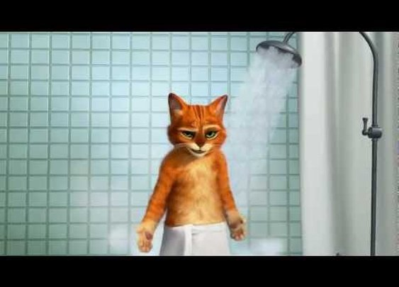 Puss in Boots TV Spot Old Spice Spoof [HD] 2011      - YouTube