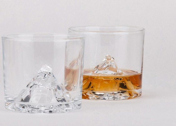 Put a mountain in your glass.
