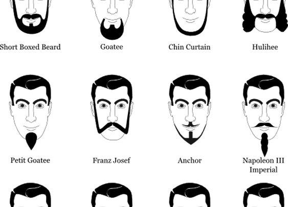 The Expanded Beard Type Chart   Jon Dyer's Blog