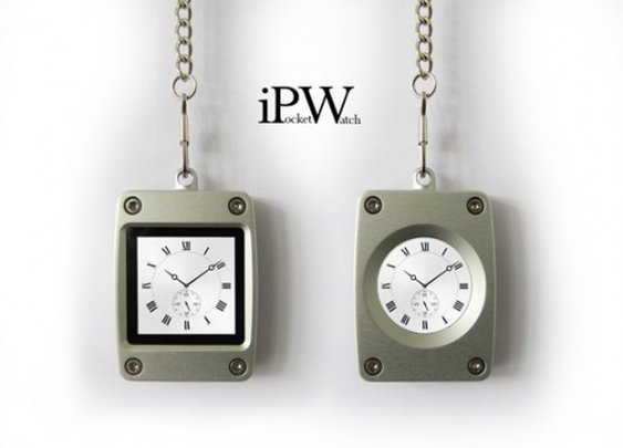 iPW (iPocketWatch) - Multi Touch Pocket Watch
