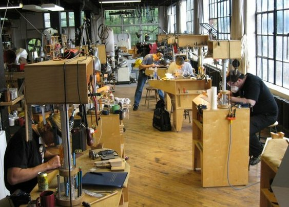 Specimen Products and Chicago School of Guitar Making.