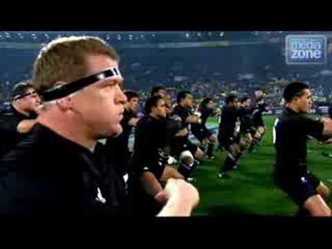 New Zealand All Blacks Haka War Dance - YouTube