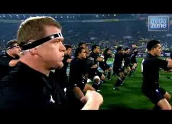 New Zealand All Blacks Haka War Dance - YouTube