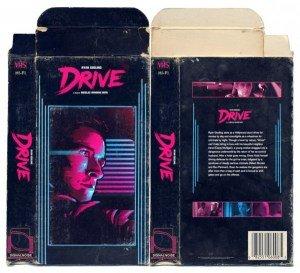 DRIVE - VHS retro cover artwork