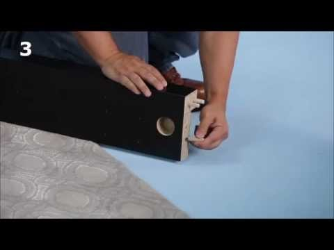 malm bed frame assembly instructions video ikea youtube gentlemint. Black Bedroom Furniture Sets. Home Design Ideas