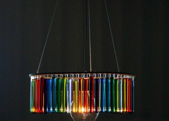 Test Tube Lamp Shade