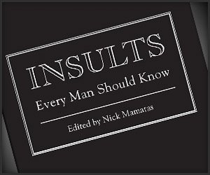 Insults Every Man Should Know - The Awesomer