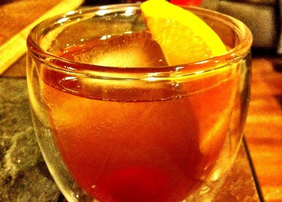 Old Fashioned. (Don Draper's favorite...)