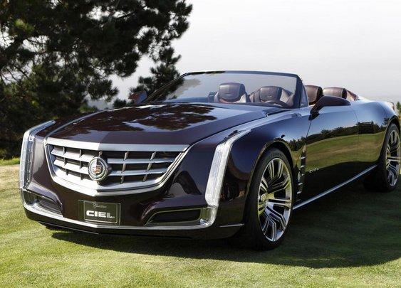 2012 Cadillac Ciel Concept car