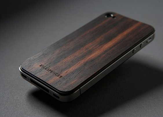 IPHONE 4/4S MACASSAR EBONY VEIL