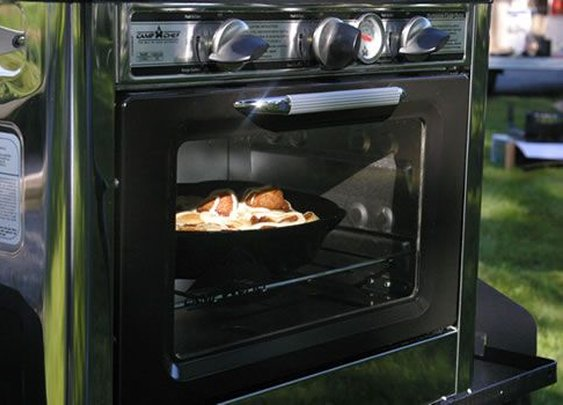 Outdoor Camp Oven 2 Burner Range and Stove - Camp Chef - The Way to Cook Outdoors