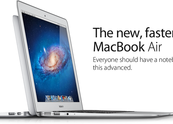 Apple - MacBook Air - The ultimate everyday notebook.