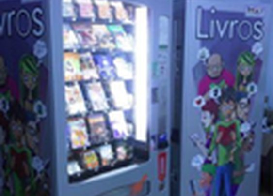 Pay What You Want book vending machine