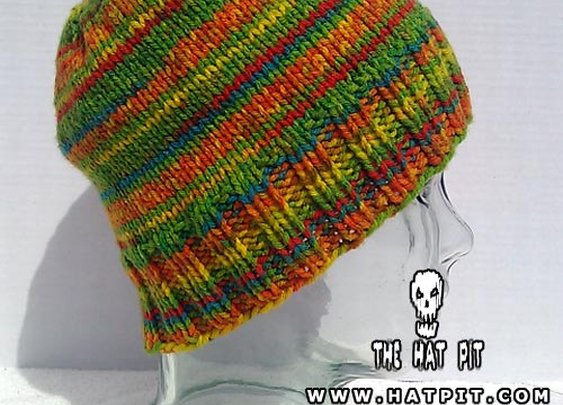 Cloud Crawler Skullcap – Hot Stripes | The Hat Pit