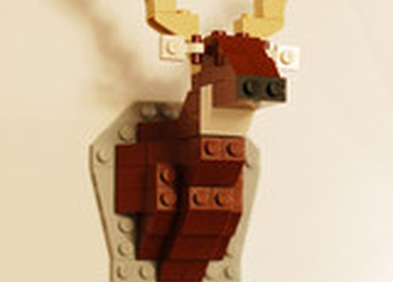 Unofficial Taxidermy Deer LEGO Kit