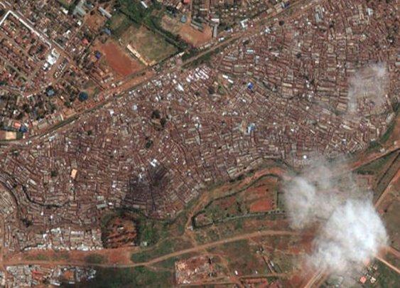 A Shocking Satellite Tour Of The World's Biggest Slums