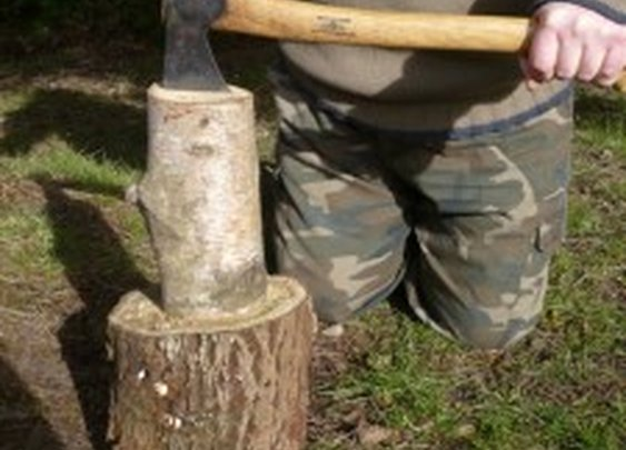 Carving A Kuksa Or Wooden Cup