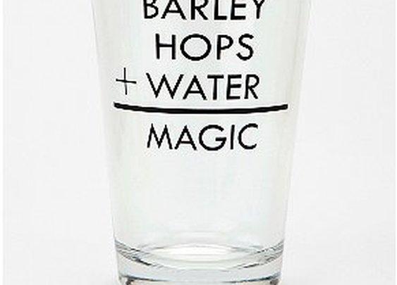 Barley Pint Glass