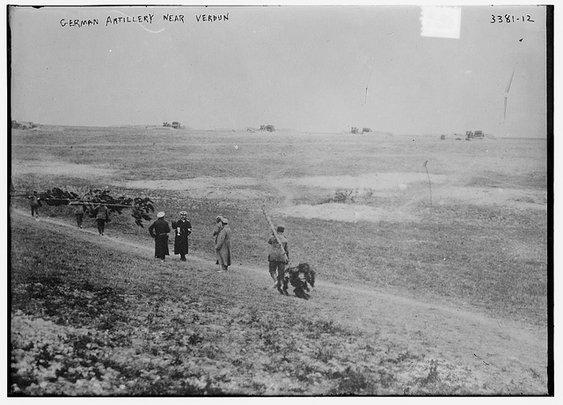 German Artillery near Verdun (LOC) | Flickr - Photo Sharing!