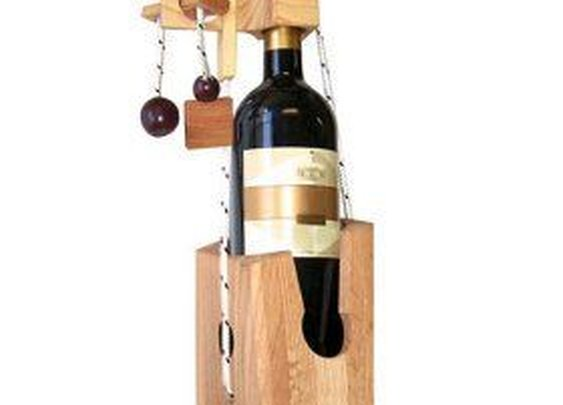 Wine Bottle Puzzle Lock