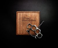 Bourgeois Brass Knuckles Corkscrew